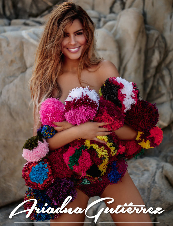 AGUA BENDITA REVEALS THEIR 2017 FACE: ARIADNA GUTIERREZ