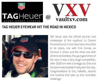 TAG Heuer Eyewear hit the road in Mexico