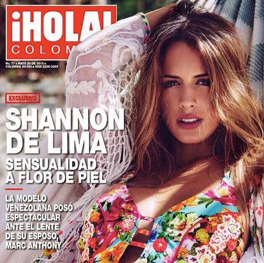 Shannon de Lima is Agua Bendita's 2016 Collection Image