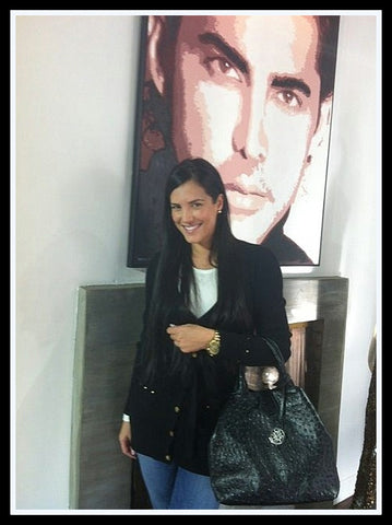 Actress Gaby Espino carries NF's 'IT' bag! Blog at VaultXV.com