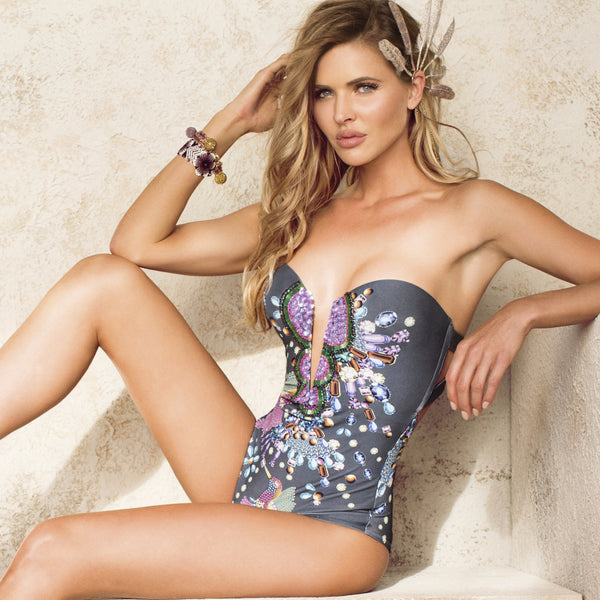 9547059d6f5d9 Mediterranean One Piece Swimsuit by Paradizia Swimwear | VaultXV