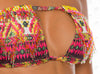 Azteca Halter Bikini by Paradizia, detail of converted bandeau top