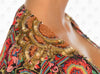 Voyage Cover Up by Paradizia Swimwear, view of shoulder beading, at VaultXV.com