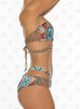 Curacao Bandeau Bikini by Paradizia Swimwear, side view
