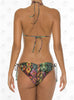 Cuzco Triangle Bikini by Paradizia Swimwear, back view on model