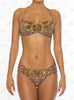 Voyage Bandeau by Paradizia Swimwear, view of front with straps at VaultXV.com