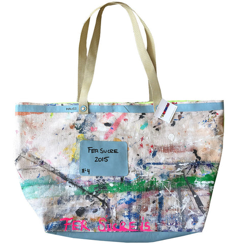 Canvas Limited Edition Pop Bag #4 by Fer Sucre at VaultXV