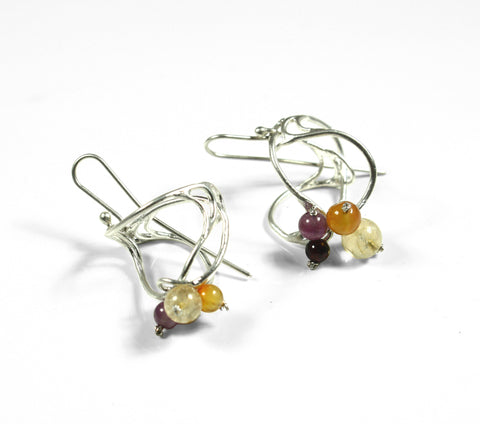 Oscar Abba Short Rhizoma Earrings