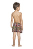 Bendito Simbolo Boys Swimshort by Agua Bendita, back view