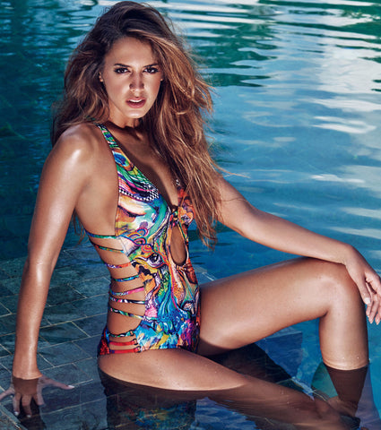 fb446701507ca Bendito Ilusion One Piece Swimwear by Agua Bendita, available at VaultXV.com