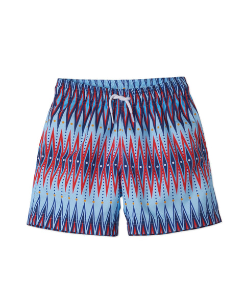 Chevron 3 Print Board Shorts by Stella Cove at VaultXV.com