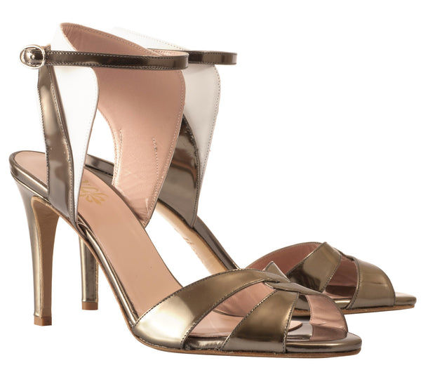 Zoe Ankle Cuff Sandals by De Siena