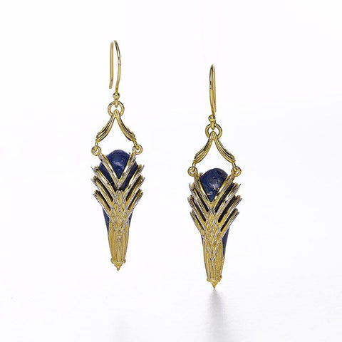 Aziza Earrings by Ellen Himic