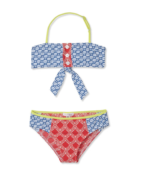 Coffee Beans Girls Bikini by Stella Cove Children Swimwear