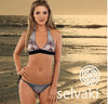 Grey Beach Bikini by Selvaki front view