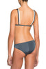 Chloe Duo-Coloured Strappy Bikini by Moeva in Smoke/Off White Rear View at VaultXV