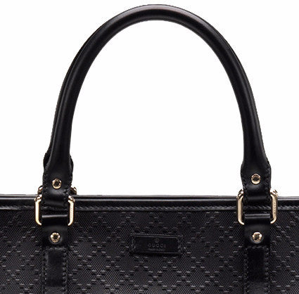 65c06a12b3281f Diamante Leather Large Unisex Tote Bag by Gucci detail view