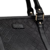 Diamante Leather Large Unisex Tote Bag by Gucci detail view