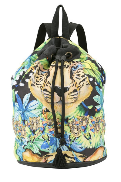 Bendito Vuelo Bag by Agua Bendita, backpack straps, front view