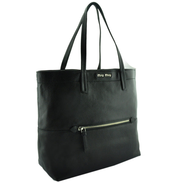 Vitello Diano Shopping Tote by Miu Miu at VaultXV.com