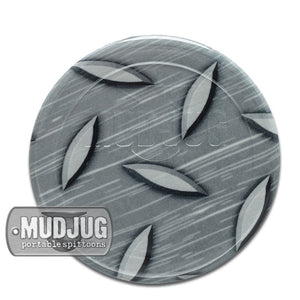 Can Lid - Mud Jug™ - Diamond Plate