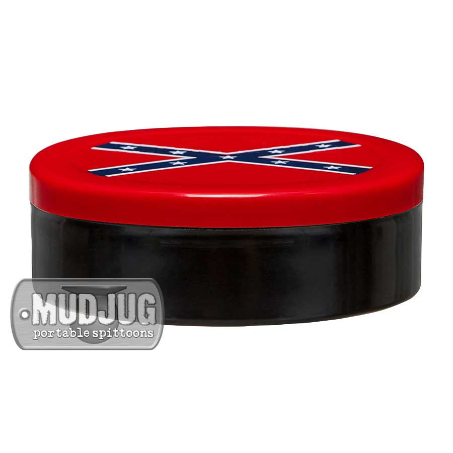 Can Lid - Mud Jug™ - Confederate Flag