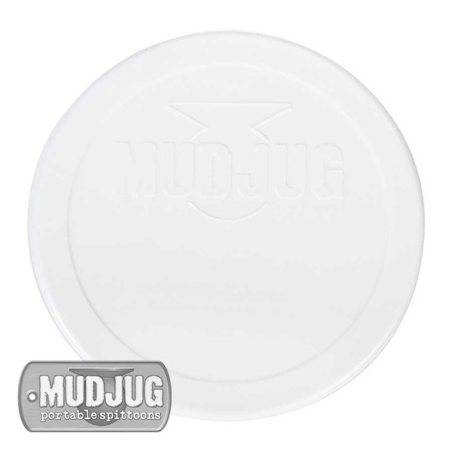 Can Lid- Mud Jug™ - White