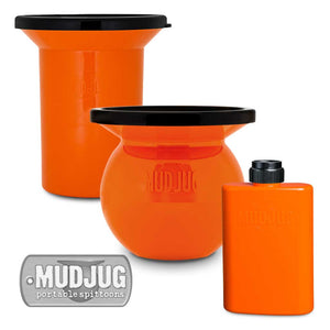 Orange Mudjug™ Combo Pack