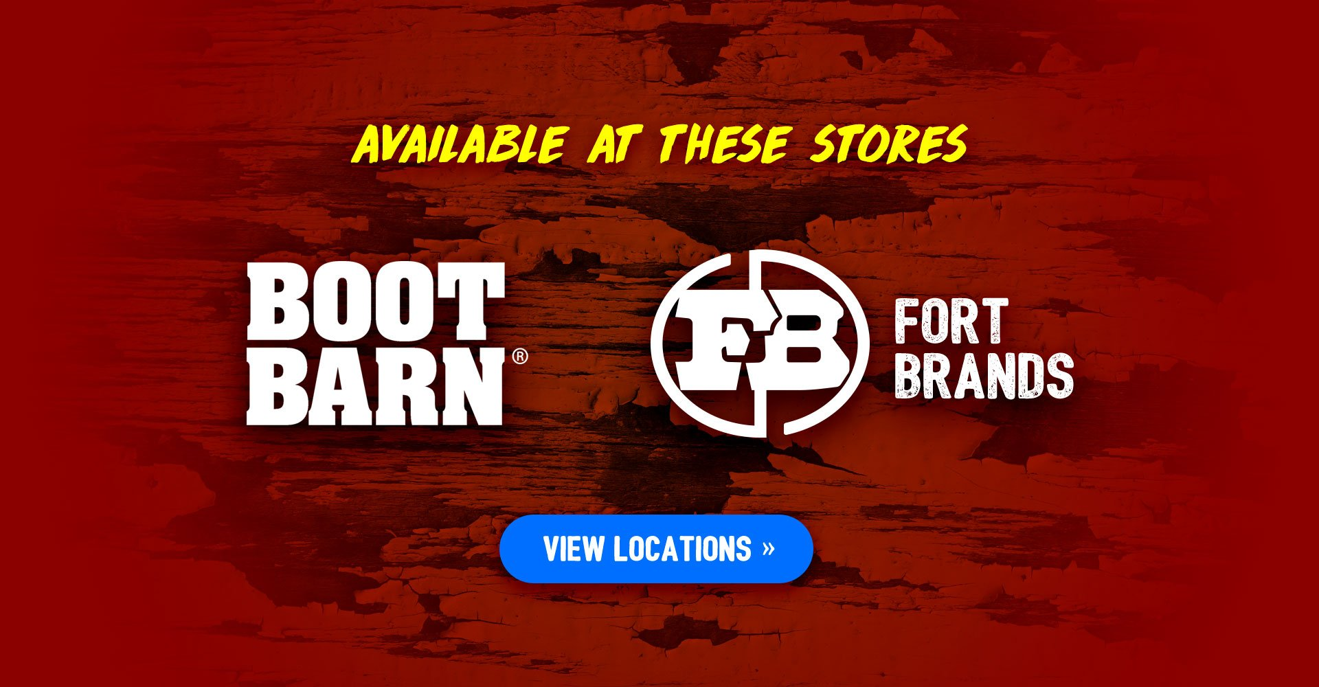 Now Available at Boot Barn