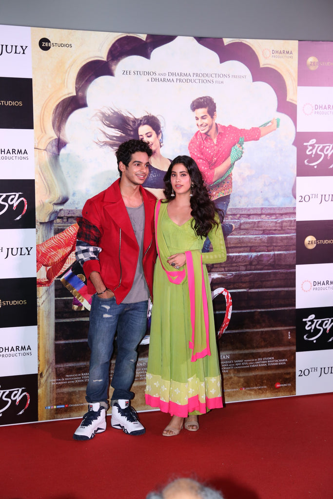 Bollywood News:Trailer launch of film Dhadak at pvr juhu