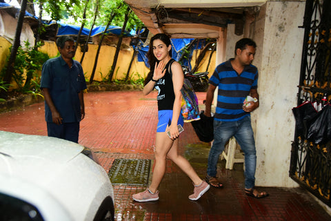 Bollywood News: Sara Ali Khan and Malaika Spotted at the GYM