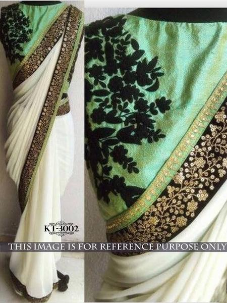 butter-mint-green-bollywood-saree-online