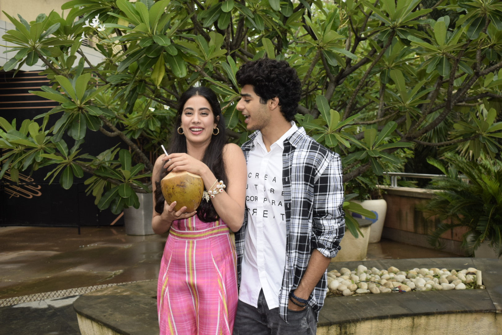 Bollywood News :Janhavi Kapoor & Ishaan Khattar at Sun and Sand in Juhu
