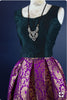 Purple Banarsi Brocade Online Shopping Of Lehenga