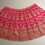 Heavy Embroidered Pink Bollywood Lengha Choli