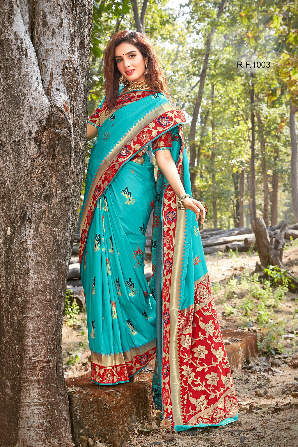Light Teal Art Silk Sarees Online Shopping With Price