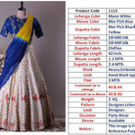 White Embroidered Silk New Bollywood Lehenga Choli Online Shopping