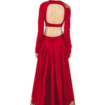 Classy Red Silk Bollywood Designer Wedding Lehngas ,Indian Dresses - 3