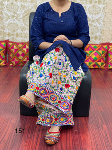 Beige And Turquoise Taffeta Silk Anarkali  Indian Salwar Suit Fashion