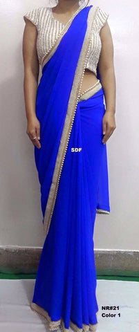 New Bollywood Designer Sarees Online Shopping