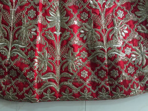 Red Heavy Embroidered Bollywood Lehengas Collection ,Indian Dresses - 5