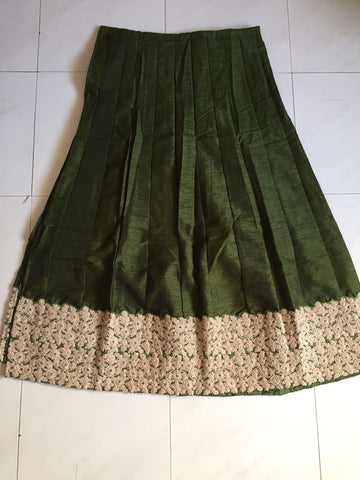 Olive Green Lehenga Choli Online Shopping India ,Indian Dresses - 2