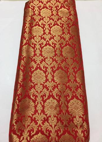 RED Brocade Indian Lehenga Choli Designs For Bridesmaid