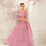 Black Faux Georgette Latest Salwar Kameez Online Shopping