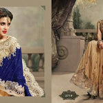Velvet Net Indian Wedding Sarees Online Shopping ,Indian Dresses - 4