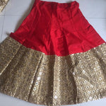 French Red Color Lehengas Online Shopping India