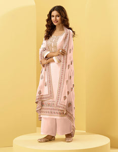 Salmon Pink Traditional Sarees Online Shopping