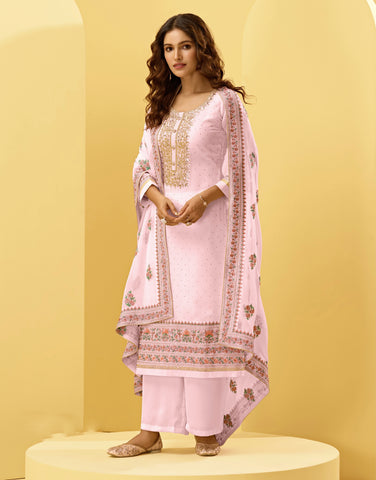 Orange Red Shade Buy Party Wear Sarees Online