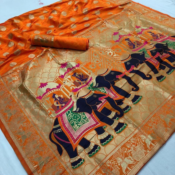 Set of 2 Silk Saree and Blouse