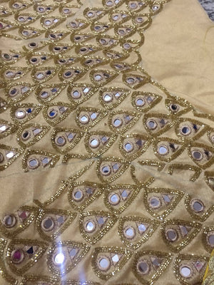 Yellow Raw Silk Designer Lehenga Online